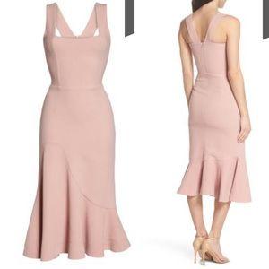 c7621f0f8a6c Dress the Population Dresses - Dress The Population Monica Tea Length Dress  Blush
